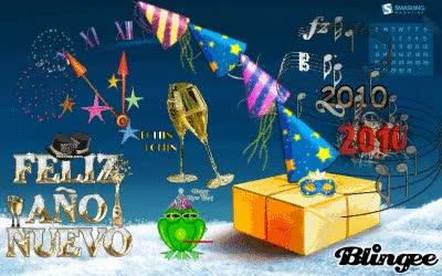 Watch and share ¡FELIZ AÑO NUEVO 2010! GIFs on Gfycat