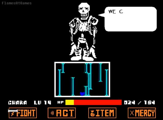 DISBELIEF (Papyrus's Genocide Route) [Undertale] GIF | Find