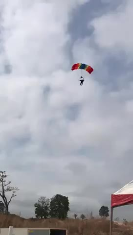 Watch and share Parachute Man But No GIFs by saleh on Gfycat