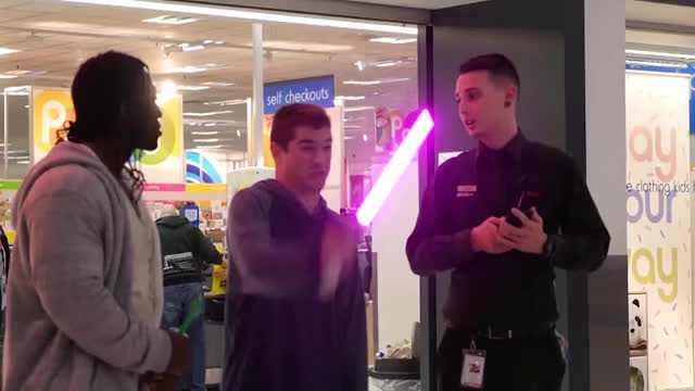 Watch 2 purple lightsaber comp v002 GIF on Gfycat. Discover more related GIFs on Gfycat