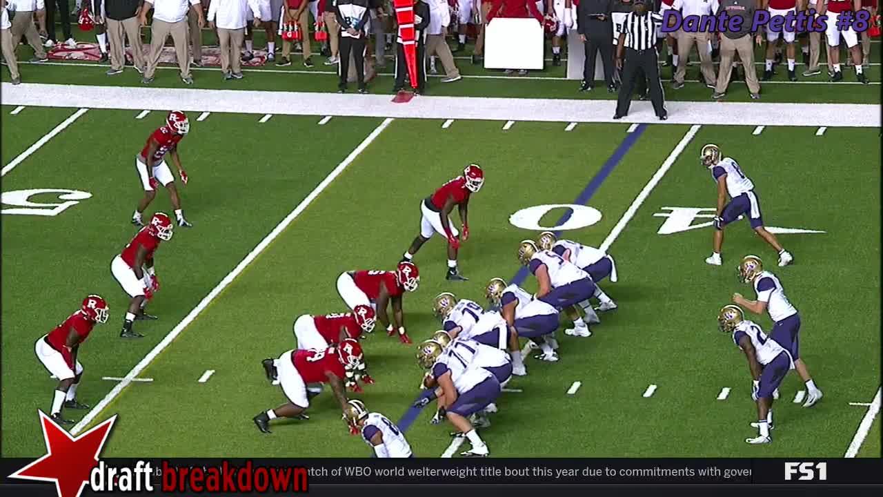Dante Pettis vs. Rutgers (2017) GIFs