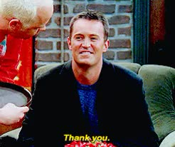 Watch and share Chandler Bing GIFs and Matthew Perry GIFs on Gfycat