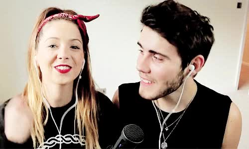 Watch zoe and alfie GIF on Gfycat. Discover more alfie deyes GIFs on Gfycat
