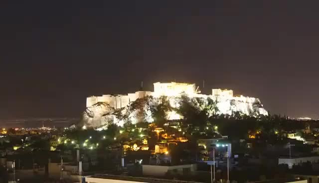 Watch and share The View From Hotel Grande Bretagne Athens In Timelapse Mode GIFs on Gfycat