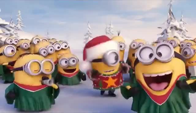 Watch ahhpfff_in rythm GIF on Gfycat. Discover more christmas, minion GIFs on Gfycat