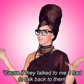 Watch and share Rupaul's Drag Race GIFs and Alyssa's Secret GIFs on Gfycat