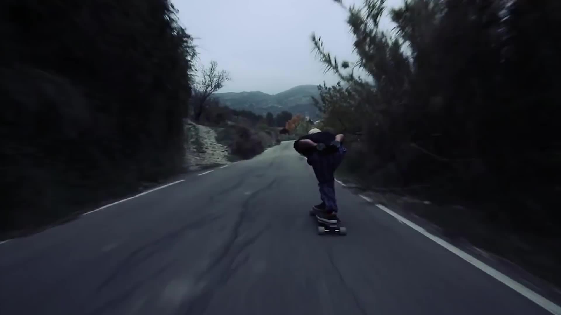 gifs, superathletegifs, wtf, Downhill Longboarding GIFs
