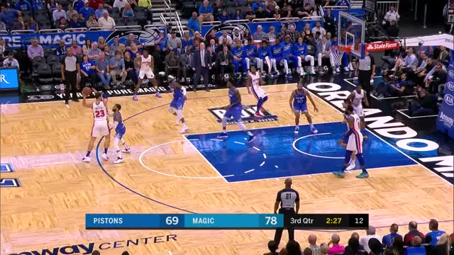 Watch BG off-hand crumbs GIF by Mike Snyder (@m_james_snyder) on Gfycat. Discover more Detroit Pistons, Orlando Magic, basketball GIFs on Gfycat