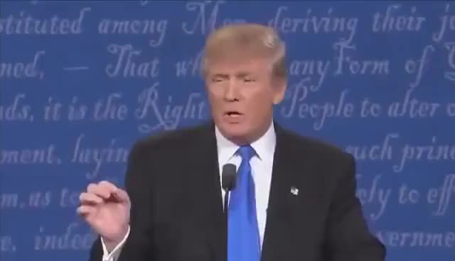 Watch and share FULL COMPILATION: Trump Sniffs - How Many Times Did Donald Trump Sniff Speech At Presidential Debate GIFs on Gfycat
