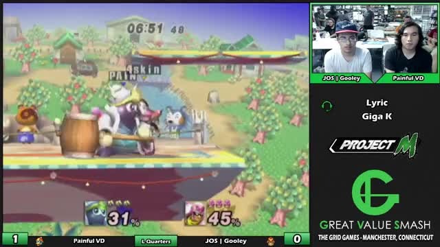 Watch Painful VD (Dedede) VS JOS | Gooley (Falcon) | Grid Project M Weekly 49 | Losers Quarters GIF by @painfulvd on Gfycat. Discover more gvs, project m, super smash brothers GIFs on Gfycat