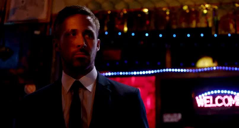 ryan gosling, You wanna fight? : Cinemagraphs GIFs