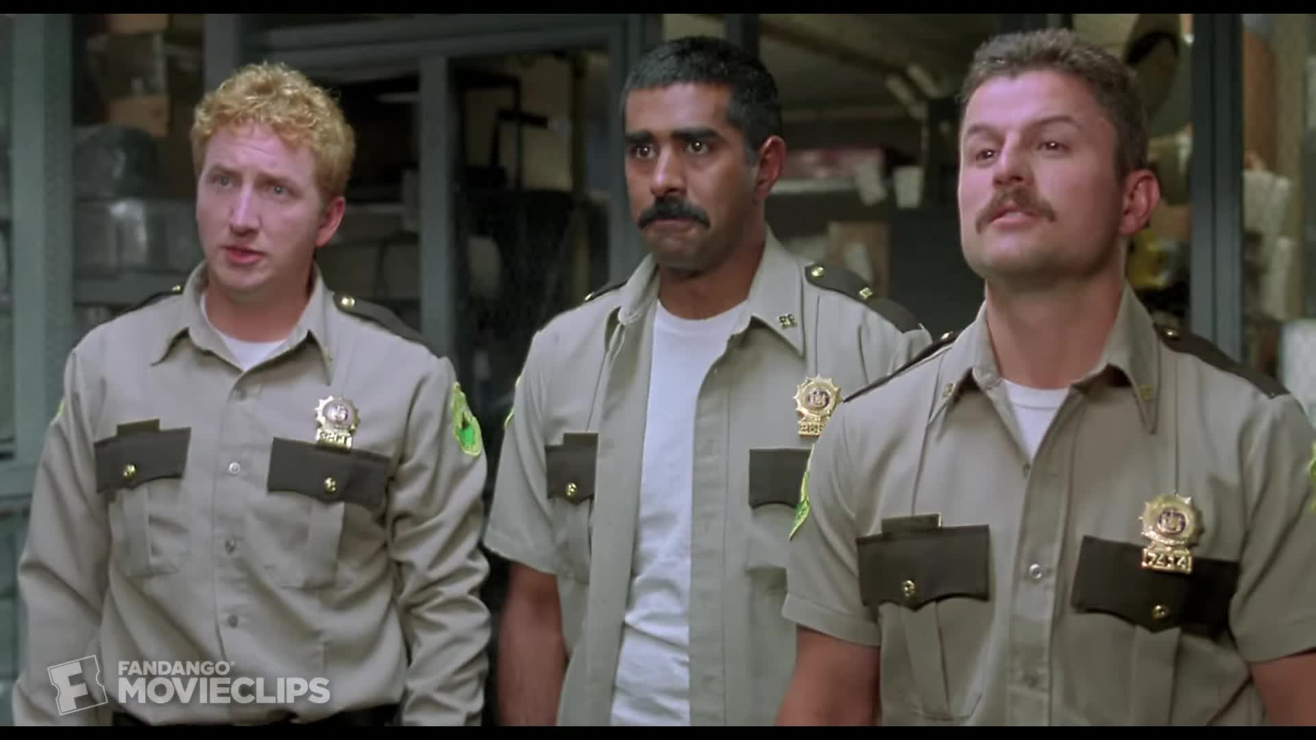 comedy, indie comedies, integrity videos, jonathan shoemaker, rabbit, super troopers, super troopers 2, super troopers meow, super troopers trailer, william rotko, Super Troopers (5/5) Movie CLIP - Shenanigans (2001) HD GIFs