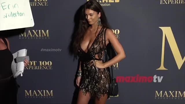 Erin Willerton 2018 Maxim Hot 100 Experience