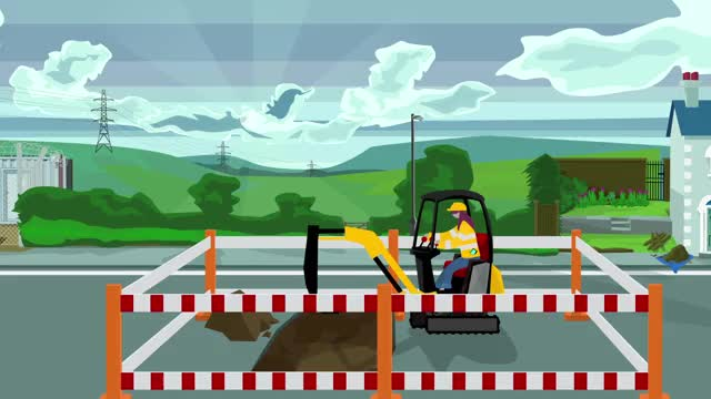 Watch and share Excavator Gif GIFs on Gfycat