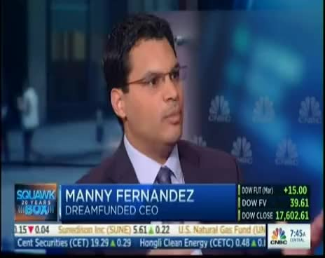 Watch DreamFunded as seen on CNBC Squawk Box GIF on Gfycat. Discover more related GIFs on Gfycat