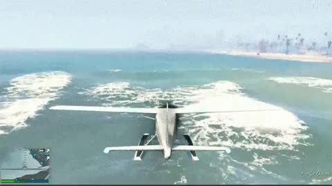 Watch and share Gta V Dodo Landing GIFs on Gfycat