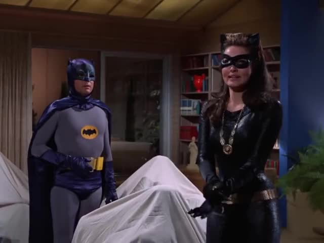 Watch and share Julie Newmar GIFs and Adam West GIFs on Gfycat