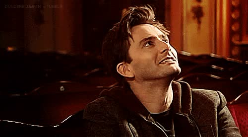 Watch and share David Tennant GIFs and Excitement GIFs by Reactions on Gfycat
