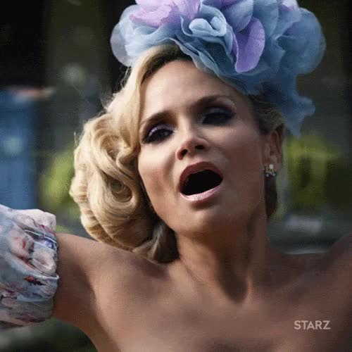 Watch and share Kristin Chenoweth GIFs and American Gods GIFs by Unsurprised on Gfycat