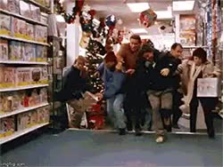 Watch and share Christmas Shopping GIFs on Gfycat
