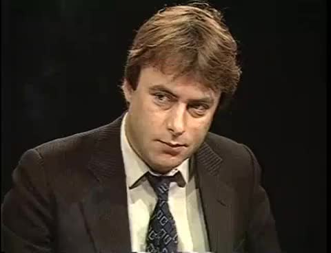 Watch and share Christopher Hitchens  Discussing Political Affairs In South Africa GIFs on Gfycat