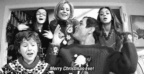 Watch and share Christmas Eve GIFs and Julie Bowen GIFs on Gfycat