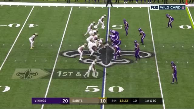 Watch and share New Orleans Saints GIFs and Minnesota Vikings GIFs by nolaplayer93 on Gfycat