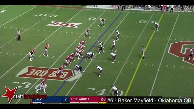 Watch and share Baker Mayfield (Oklahoma QB) Vs UTEP 2017 GIFs on Gfycat