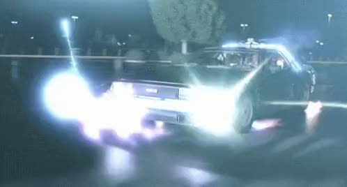 Watch and share Delorean Back To The Future GIFs on Gfycat