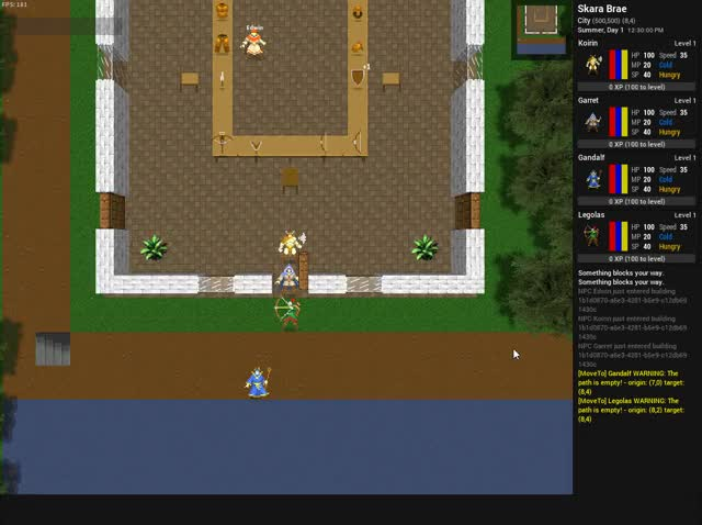Watch Party-based movement GIF by Roguecaster Games (@roguecastergames) on Gfycat. Discover more dividedkingdoms, roguelike, roguelikedev GIFs on Gfycat