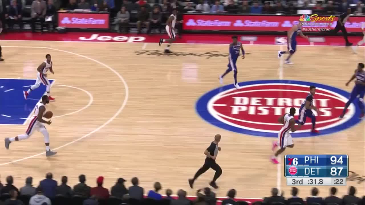 Detroit Pistons, Drummond, Philadelphia 76ers, basketball, hate GIFs