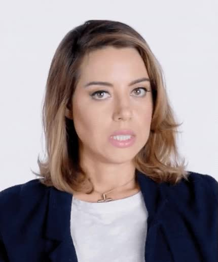 Watch and share Aubrey Plaza GIFs and Aubrey Plaze GIFs by Reactions on Gfycat