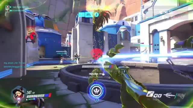 Watch and share Overwatch GIFs and Reaper GIFs by scouter953 on Gfycat