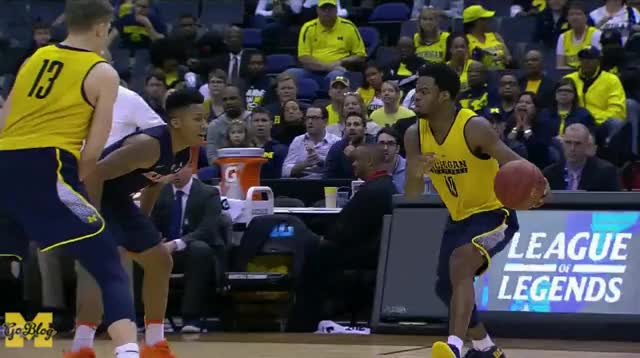 Watch and share Big Ten Tournament GIFs and Derrick Walton GIFs by MGoBlog on Gfycat