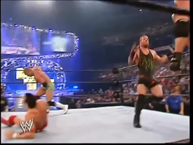 Watch Goldberg spear Nunzio Royal Rumble 2004 GIF on Gfycat. Discover more squaredcircle GIFs on Gfycat