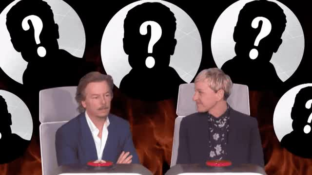 Watch and share Ellen Degeneres GIFs and David Spade GIFs by Reactions on Gfycat