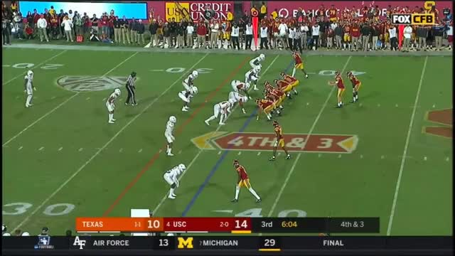 Watch and share 2017 - Texas Longhorns At USC Trojans In 40 Minutes GIFs by oriese on Gfycat