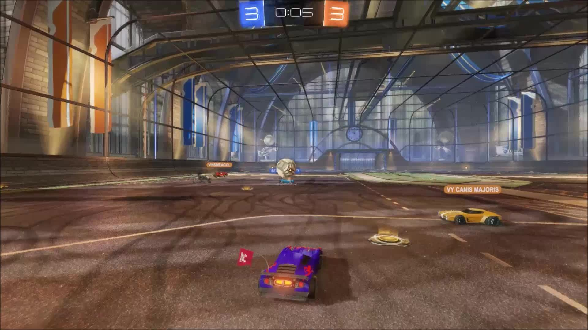 Rocket League, RocketLeague, yesyesyesno, I can't believe I'm going to be the hero. This is the day I've always dreamed of. This is going to be great, there's going to be a parade and fireworks and... (reddit) GIFs