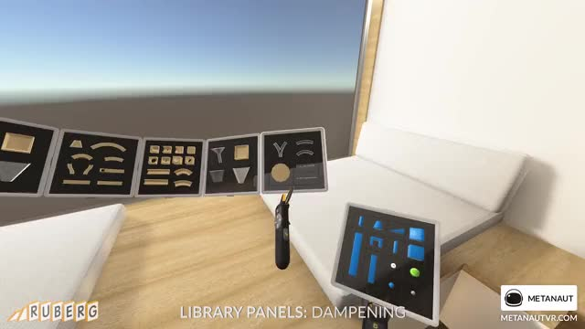 Watch Ruberg Library Panels - Dampening GIF by metanaut (@metanaut) on Gfycat. Discover more game, ruberg, ui, virtual reality GIFs on Gfycat