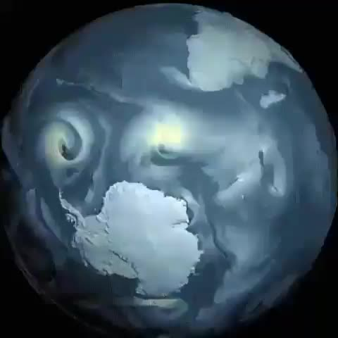 Watch and share Surface Winds Around Antarctica GIFs by tothetenthpower on Gfycat