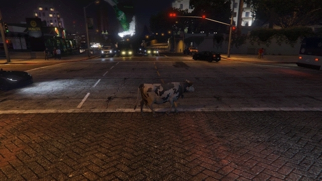 gaminggifs, GTA V - The Dark Cow GIFs