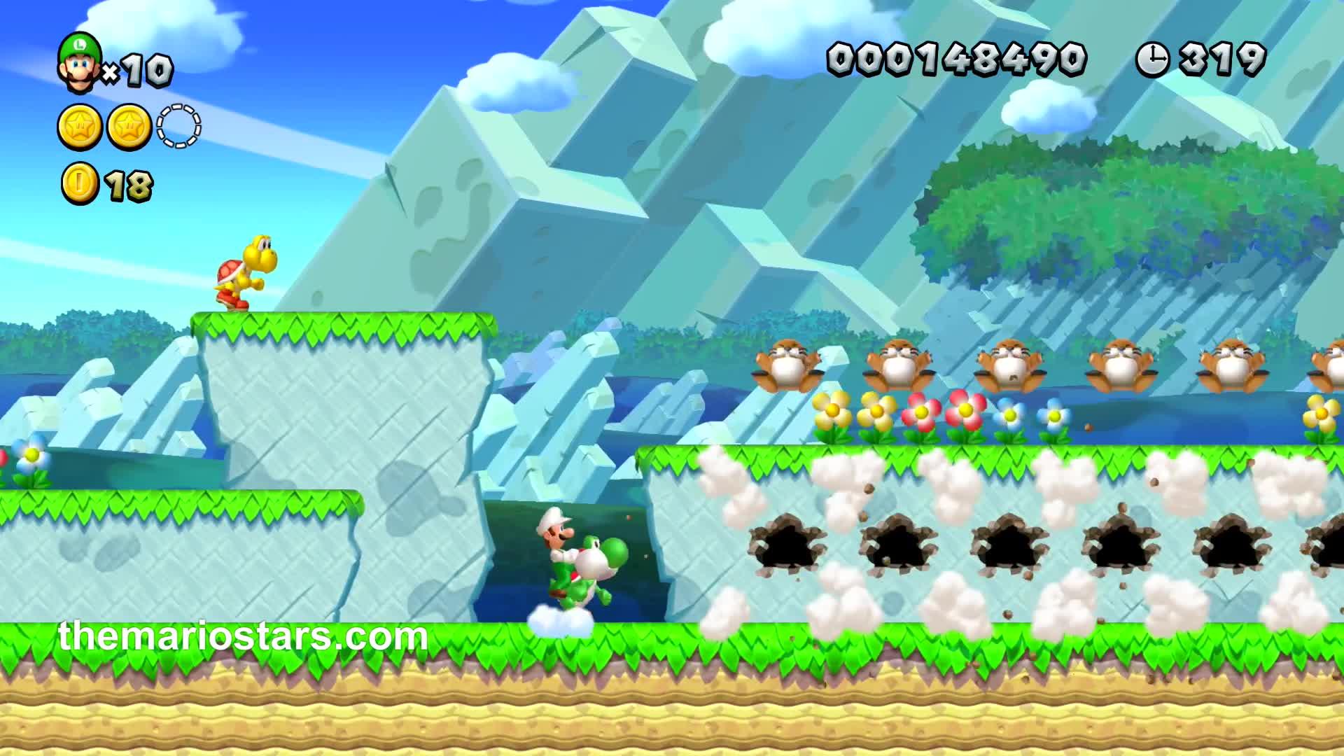 Luigi 1up New Super Mario Bros U Deluxe Nintendo Switch Gif By