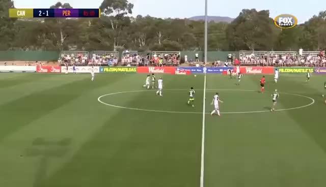 Canada, australia, soccer, Gol de María José Rojas por el Canberra United FC GIFs