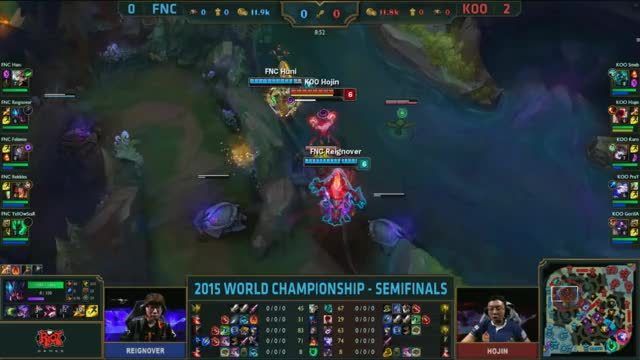 Watch and share [Worlds 2015] KOO Smeb $8 FNC GIFs by ITCC on Gfycat
