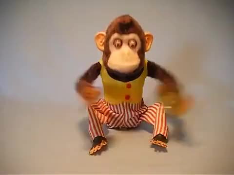 Watch Cool Vintage Monkey Toy With Banging Cymbals GIF on Gfycat. Discover more cymbals, cymbols GIFs on Gfycat