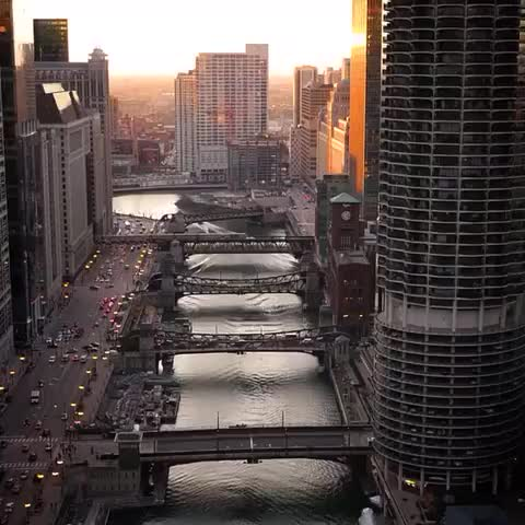 Watch and share Chicago River GIFs by 121gigawatt on Gfycat