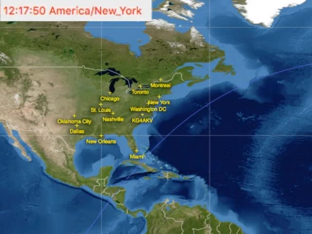 US/Canada East Coast ISS SSTV passes 2016-08-16 GIF | Find, Make
