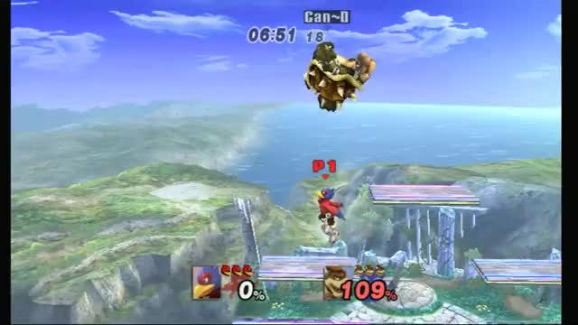 Watch and share Can~D (bowser) Vs Frenzy (falco) Weekender GF GIFs on Gfycat