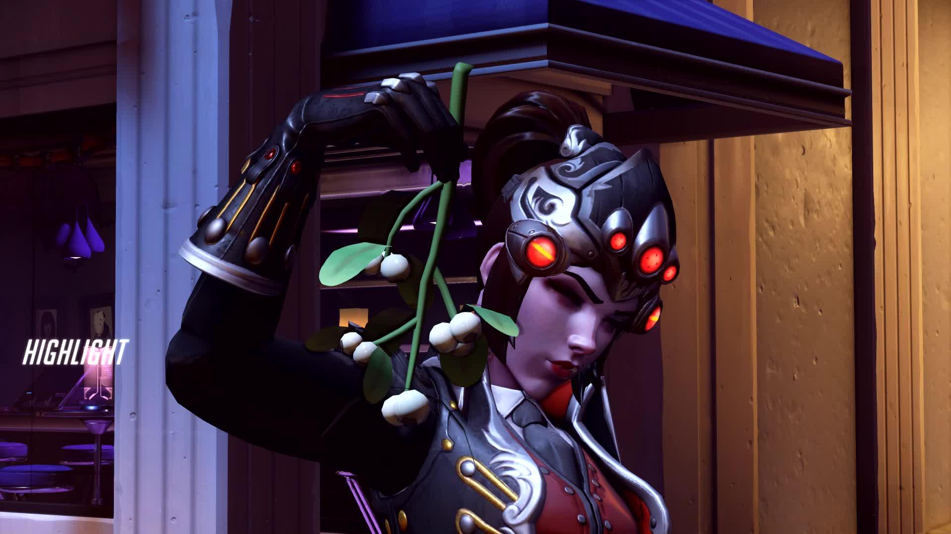 overwatch, widowmaker, a cornered widow is more dangerous than a dumbass GIFs