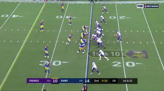 Watch and share Minnesota Vikings GIFs and Los Angeles Rams GIFs by cdasilva18 on Gfycat